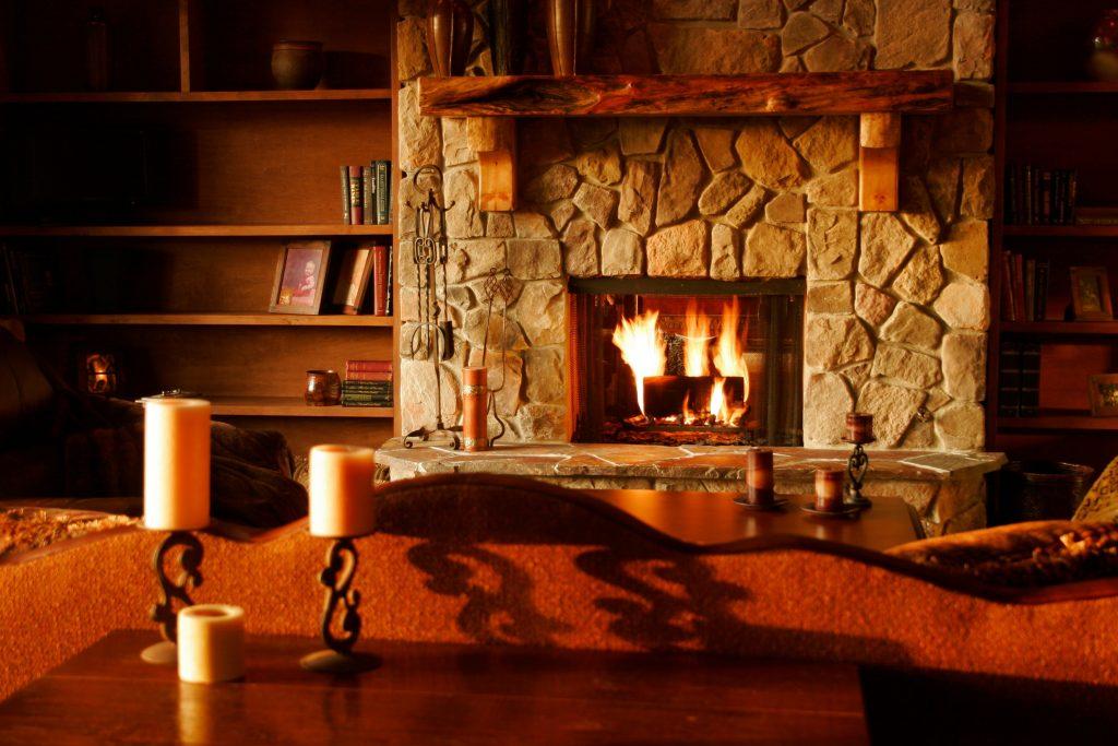 Image d'une cheminée, alternative pour chauffer sa maison